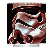 Stormtrooper Helmet 26 Shower Curtain