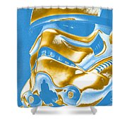 Stormtrooper Helmet 30 Shower Curtain