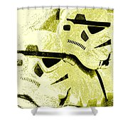 Stormtroopers Shower Curtain