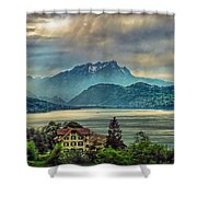 Stormy Atmosphere Shower Curtain