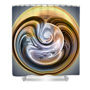 Stormy Clouds Ball Shower Curtain