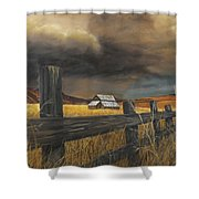Stormy Clouds Shower Curtain