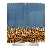 Stormy Corn Shower Curtain