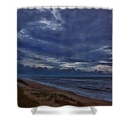 Stormy Morning 2 11/11 Shower Curtain