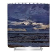 Stormy Morning 3 11/11 Shower Curtain
