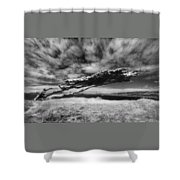 Stormy Promise Shower Curtain