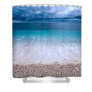 Stormy Seascape Shower Curtain