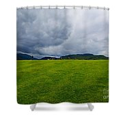 Stormy Sky Above Castlerigg Stone Circle Shower Curtain