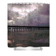 Stormy Sky In Myrtle Beach Shower Curtain
