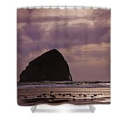 Stormy Sunset Shower Curtain