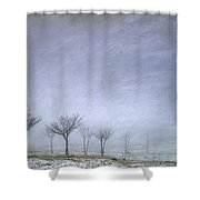 Stormy Wheather Shower Curtain