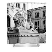 Stortinget Parliament Building Oslo Norway Shower Curtain