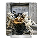 Stoups At The Basilica Shower Curtain