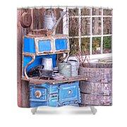 Stove  Appliance Cooker  Kitchen  Antique Shower Curtain