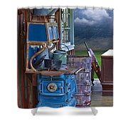 Stove - Appliance - Cooker - Kitchen  Shower Curtain