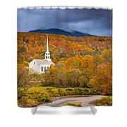 Stowe Church Shower Curtain