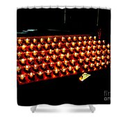 St.patricks Cathedral Candles Shower Curtain
