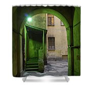 The Small Yard Shower Curtain