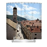 Stradun Shower Curtain