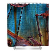 Strained Gears  Shower Curtain