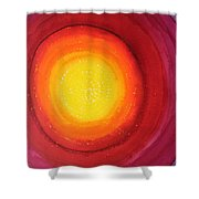 Strange Attractor Original Painting Sold Shower Curtain