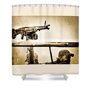 Strange Days Shower Curtain by Bob Orsillo