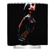 Strange Woman Shower Curtain