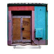 Strasbourg Door Shower Curtain