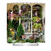 Strasburg Flower Shop Shower Curtain