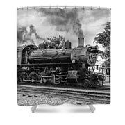Strasburg Rail 475 Shower Curtain