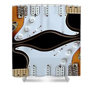 Electric Guitar 5 Shower Curtain