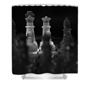 Strategy Shower Curtain