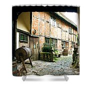 Stratford Back Alley Shower Curtain