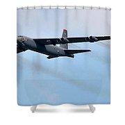 Mega Bomber Shower Curtain