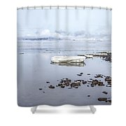 Stream Of Stillness Shower Curtain