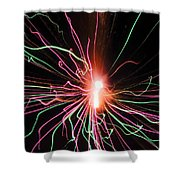 Streamers 2 Shower Curtain