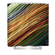 Streamers Shower Curtain