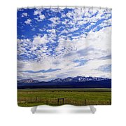 Streaming Sky Shower Curtain