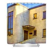 Streamline Moderne 2 Shower Curtain