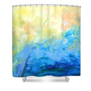 Streams Shower Curtain