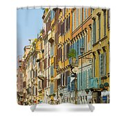 Street And Obelisk Shower Curtain