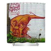 Street Art 4 Shower Curtain