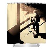 Street Artist Shower Curtain