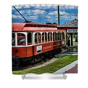 Street Cars Tr3613-13 Shower Curtain