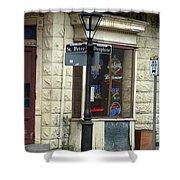 Street Corner In New Orleans Shower Curtain