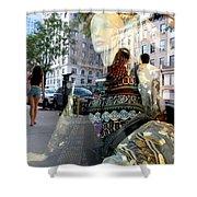 Street Fashion Shower Curtain