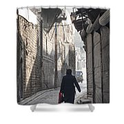 Street In Aleppo Syria Shower Curtain