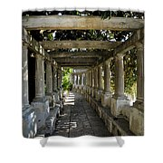 Street In Historic In Granada Shower Curtain