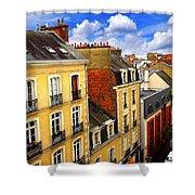 Street In Rennes Shower Curtain