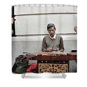 Street Jams Chinatown New York City Shower Curtain